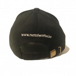 RentalWorks Baseball cap - zwart